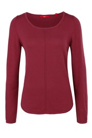 Dámský jednobarevný svetr s.Oliver
