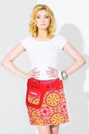 Oboustranná sukně Sydney ruční výroby ze 100% bavlny