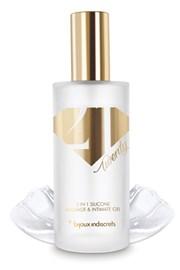 Bijoux Indiscrets Twenty One 2v1 silikonový masážní a lubrikační gel
