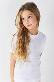 Dívčí bavlněné tričko Lea