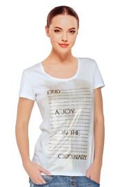 Dámské tričko Sara White s modalem