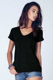 Dámské bavlněné triko Madie Black
