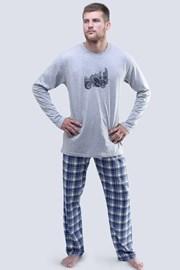 Pánské pyžamo Harley dlouhé