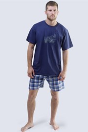 Pánské pyžamo Harley modré
