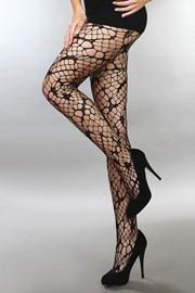 Síťované punčochové kalhoty Aliza