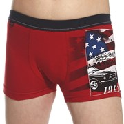 Chlapecké boxerky America Red