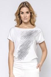 Dámské elegantní triko Hettie s krátkým rukávem