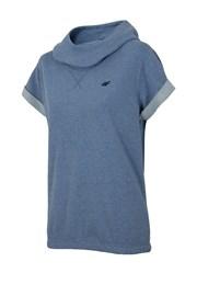 Dámská trendy mikina s krátkým rukávem Blue