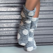 Hřejivé ponožky Darcy Grafit
