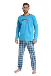 Pánské pyžamo Display modré