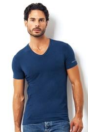 Pánské italské tričko Enrico Coveri 1501 Oceano
