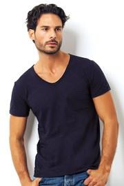 Pánské italské tričko Enrico Coveri 1512 Blue