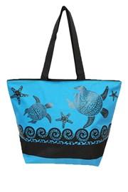 Plážová taška Fashion Mosaic turtle