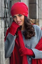 Dámská čepice Georgia červená