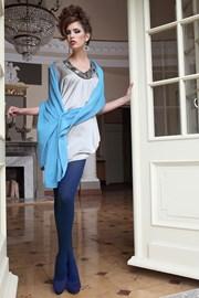 Elegantní punčochové kalhoty Glamour Soft Blue