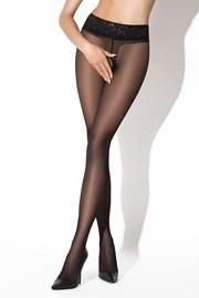 Erotické punčochové kalhoty Hip Lace Black