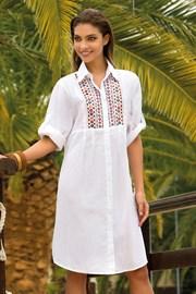 Dámské letní košilové šaty Noemi bavlněné z kolekce Iconique