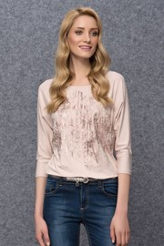 Dámské luxusní triko Kera Pudre
