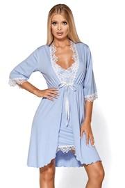 Elegantní župan Madlen blue