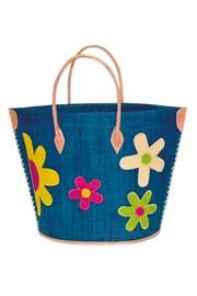 Plážová taška Majunga Rita Turquoise velká