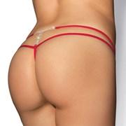 Luxusní tanga MyBijou red