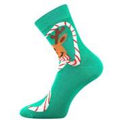 Veselé ponožky sob Rudolf