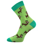 Veselé ponožky s jelínky
