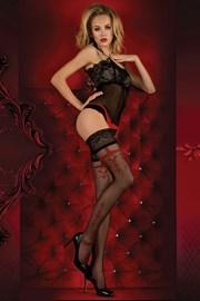 Luxusní punčochové kalhoty Red Intense 343