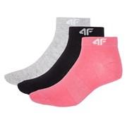Dámské sportovní kotníkové ponožky 4f 3pack