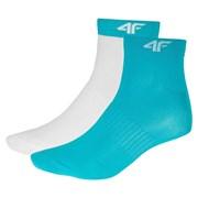 Dámské sportovní ponožky Turqoise - 2pack