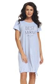 Mateřská, kojící košilka Best Mom Blue