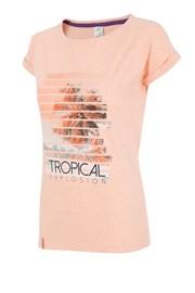 Dámské sportovní tričko 4f Tropical Coral