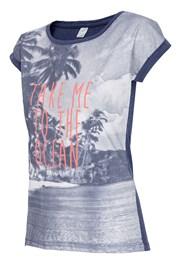 Dámské volnočasové tričko Ocean