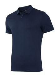 Pánské sportovní triko 4f Navy s límečkem