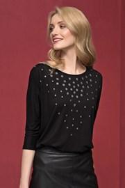 Dámské luxusní třpitivé triko Tana