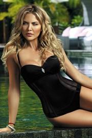 Dámské jednodílné plavky Fashion Black