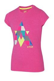 Dívčí tričko Autumn Pink