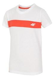 Dětské bavlněné tričko White 4f