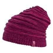 Dámská zimní čepice s žebrovaným efektem