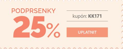 Podprsenky -25 %