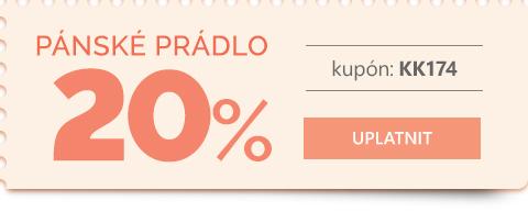 Pánské prádlo -20 %