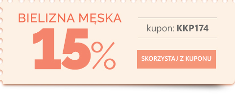 Bielizna męska -15 %
