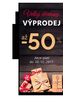 Vánoční výprodej. Slevy až 50 % napříč nabídkou.
