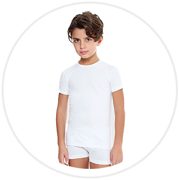 E. Coveri fehér fiú póló