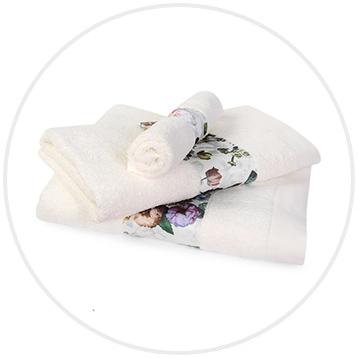 Ręcznik Fleur natural