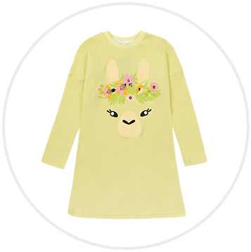 Dievčenská nočná košeľa