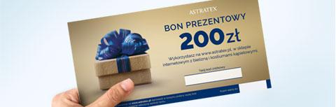 Drukowany bon prezentowy