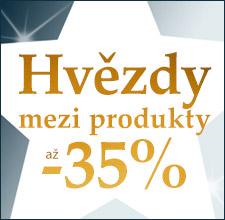Hvězdy mezi produkty -35 %