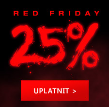 Red Friday -25% na všechno