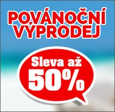 Povánoční výprodej -50 %